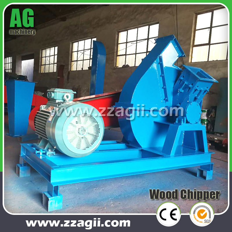 China Electric Wood Chipper Crusher For Wood Scraps Wood Waste Tree