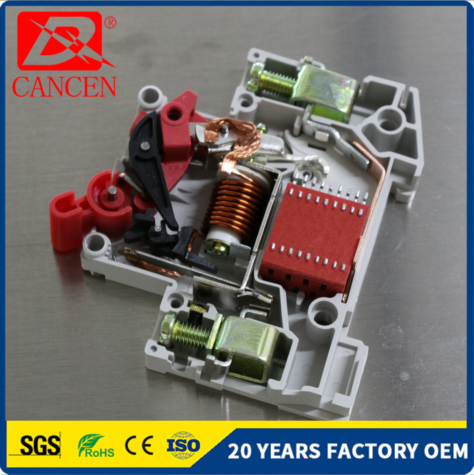 China MCB Miniature Circuit Breaker MCCB RCCB 2p 6A 10A 16A 20A 25A ...