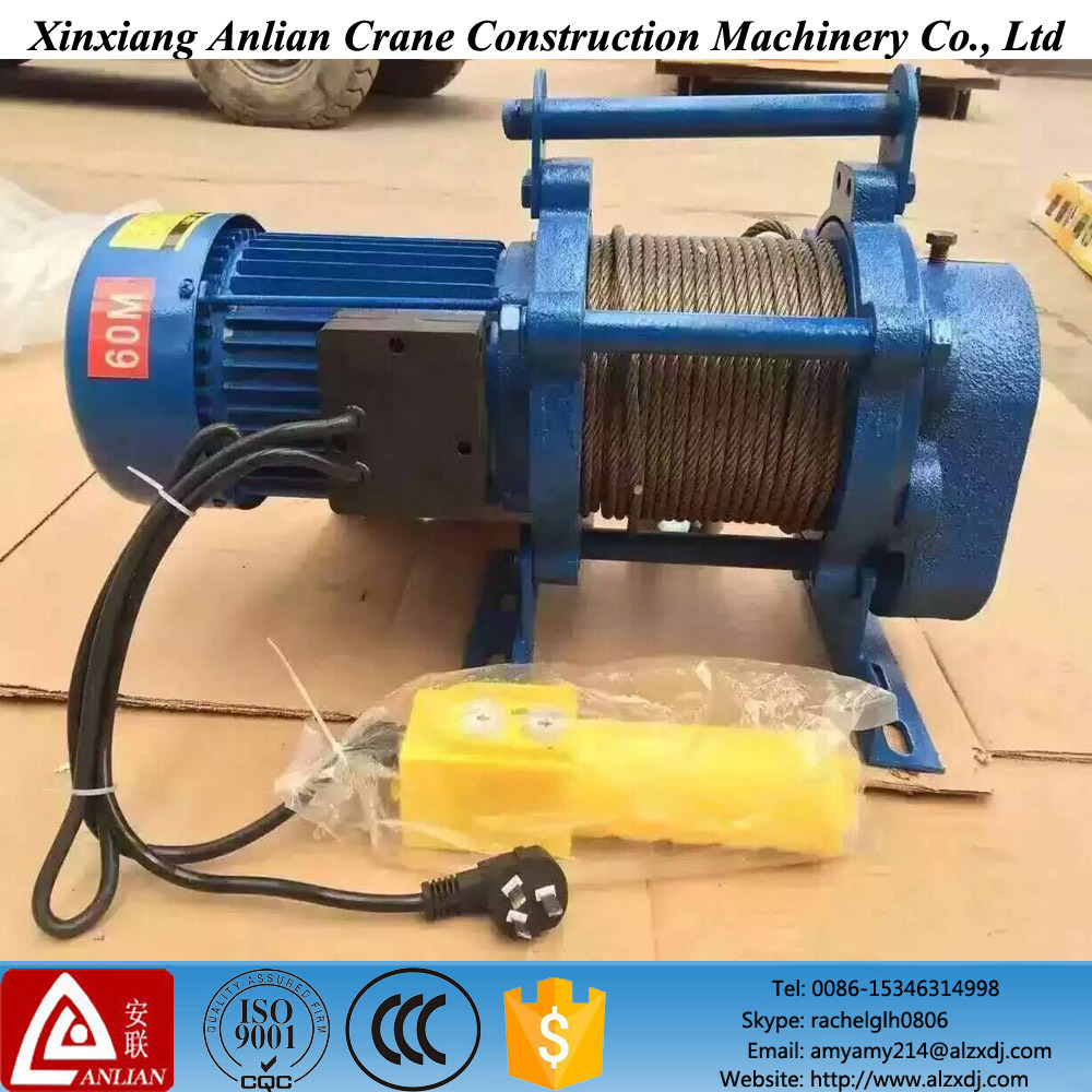 China Kcd Model Wire Rope Pulling Hoist Electric Winch (Factory ...