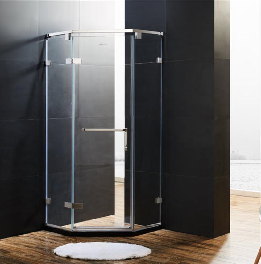 China 900 X 900 X 1900mm Smooth-Opening Pivot Door Shower Enclosure ...