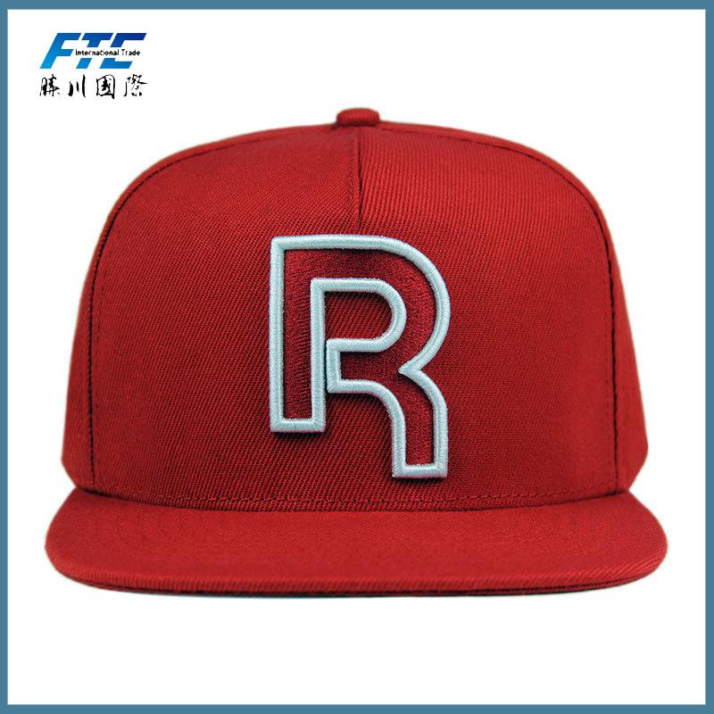 c13b8305409 High Quality 3D Letter Embroidery Short Brim Snapback Hat Wholesale