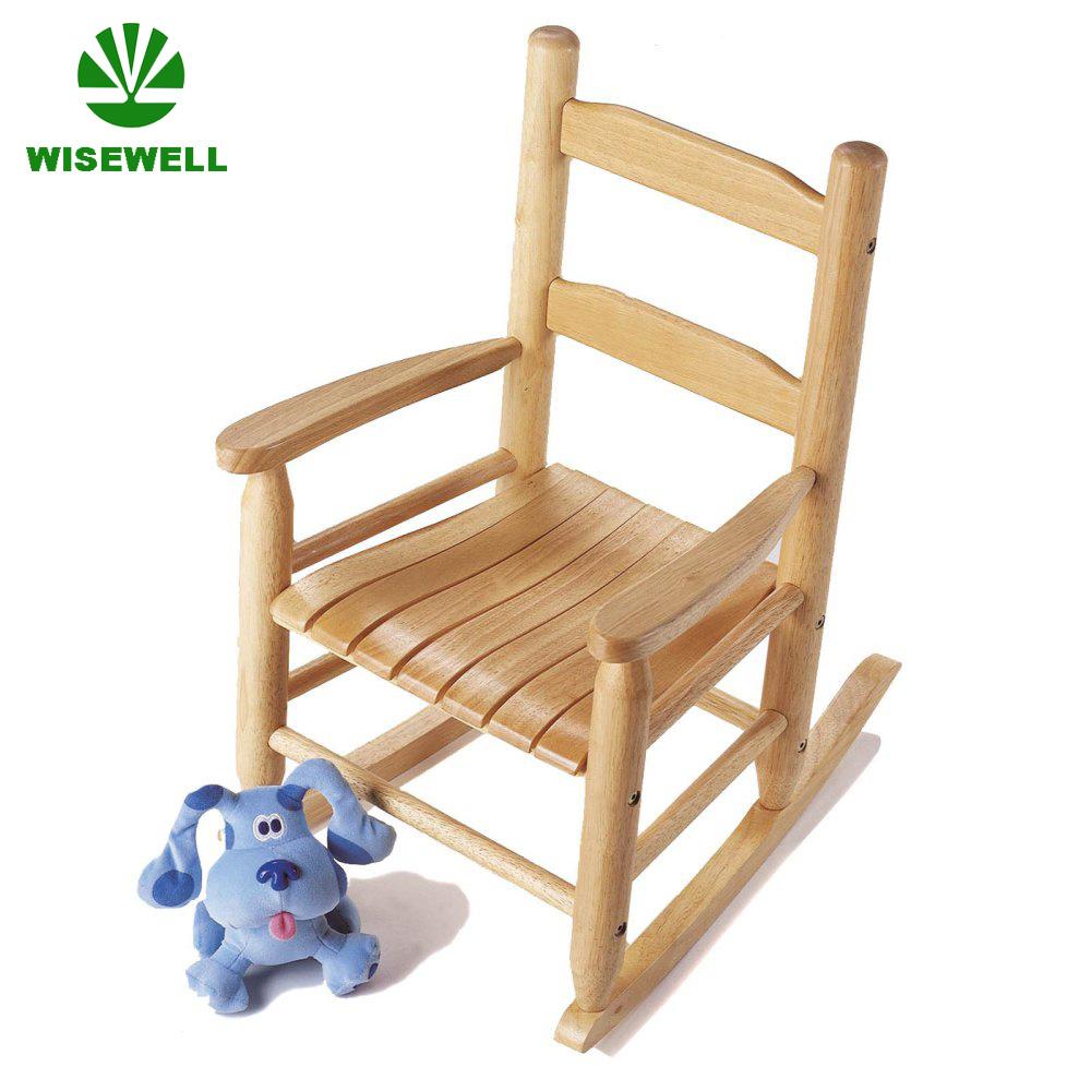 Superbe Pine Wood Children Rocking Chair Design