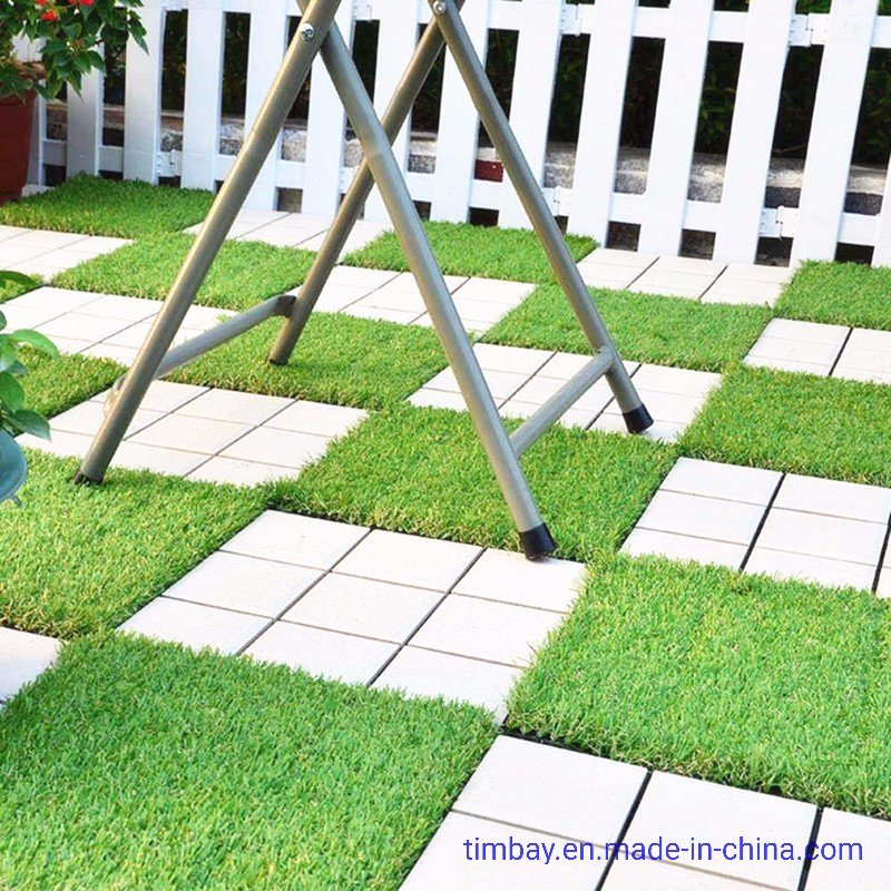 China Outdoor Diy Decking Tile With, Outdoor Interlocking Tiles For Grass