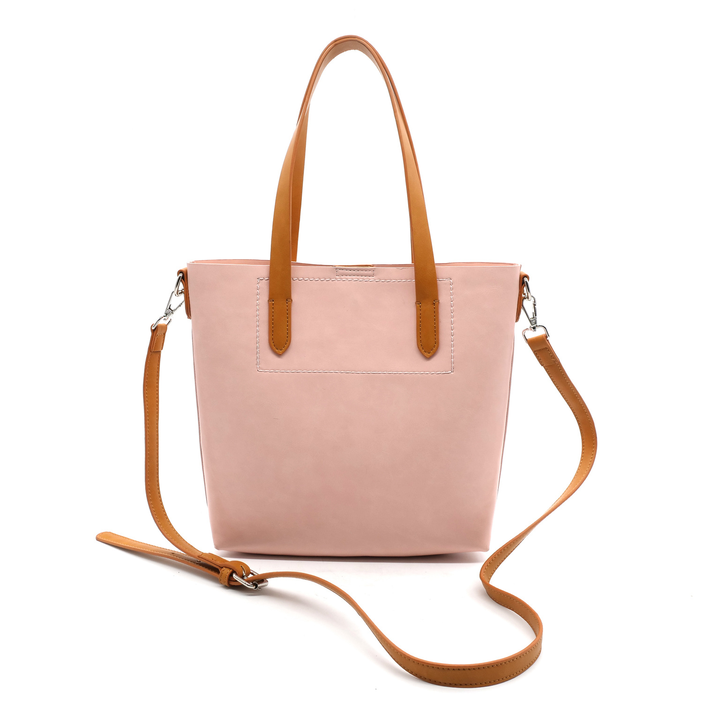 70535184d21f Baby Pink Leather Handbag