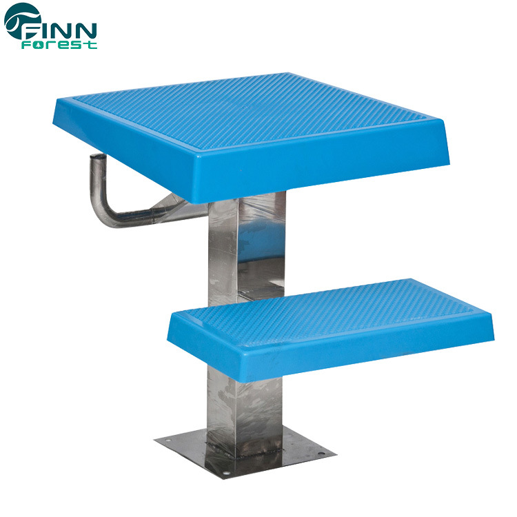 [Hot Item] Swimming Pool Competition Platform Durable Skid-Proof Stainless  Steel Starting Block