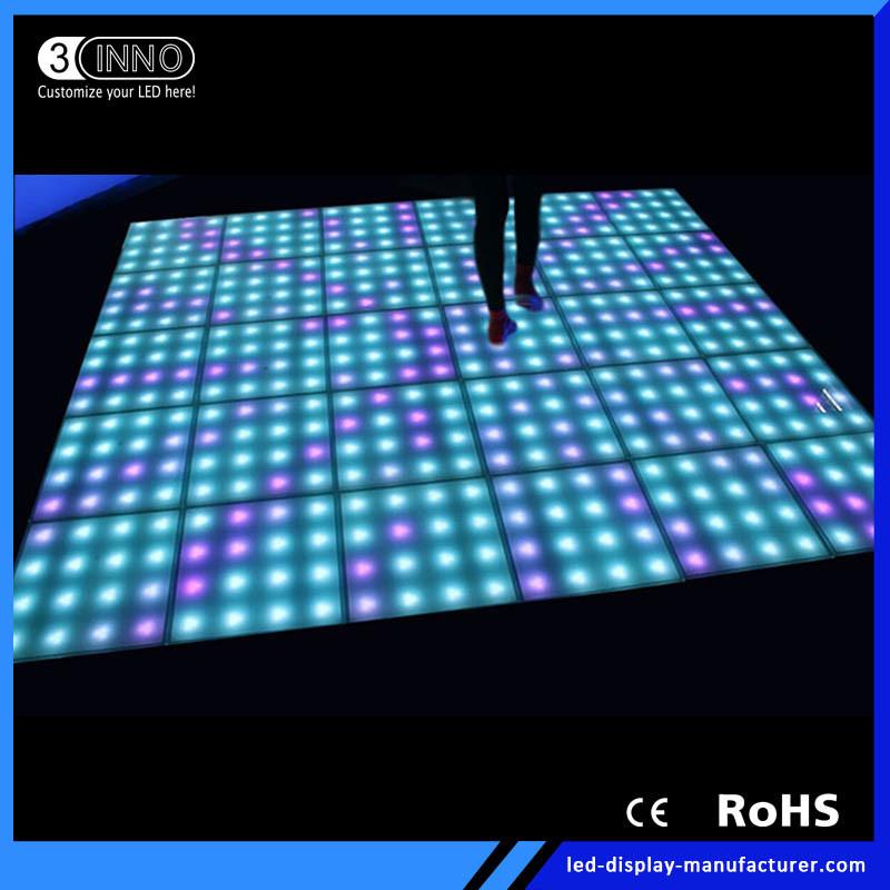 Dmx Dance Floor 16pixels Led Lighting