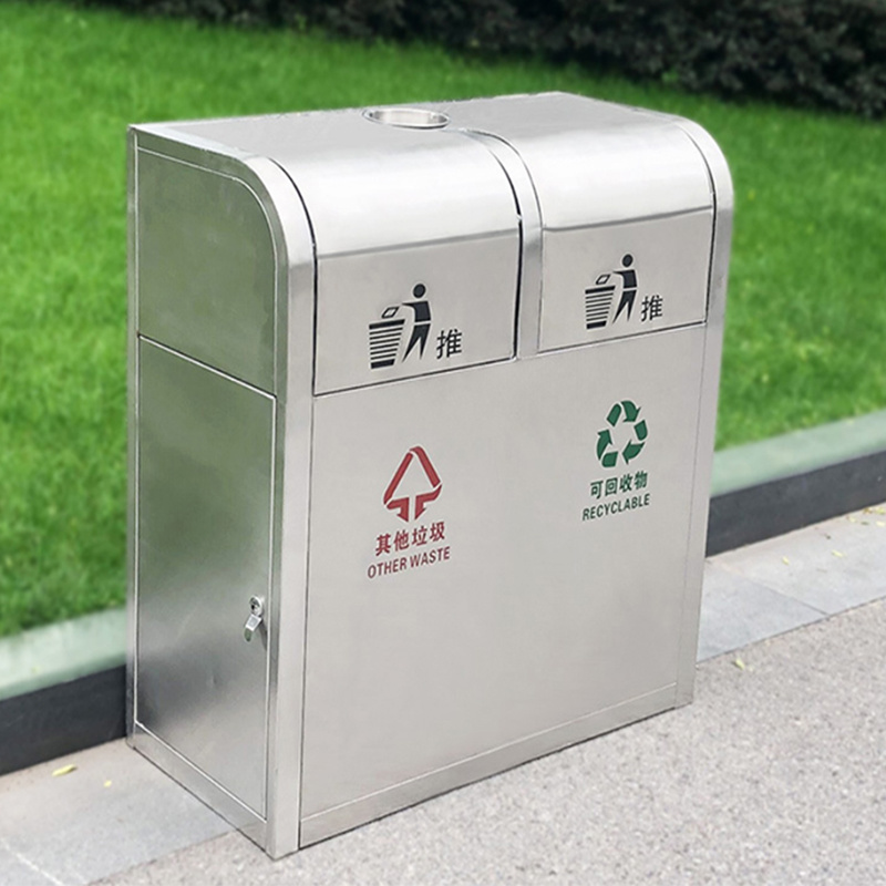 China Safe and Durable Stainless Steel Dustbin/Household ...