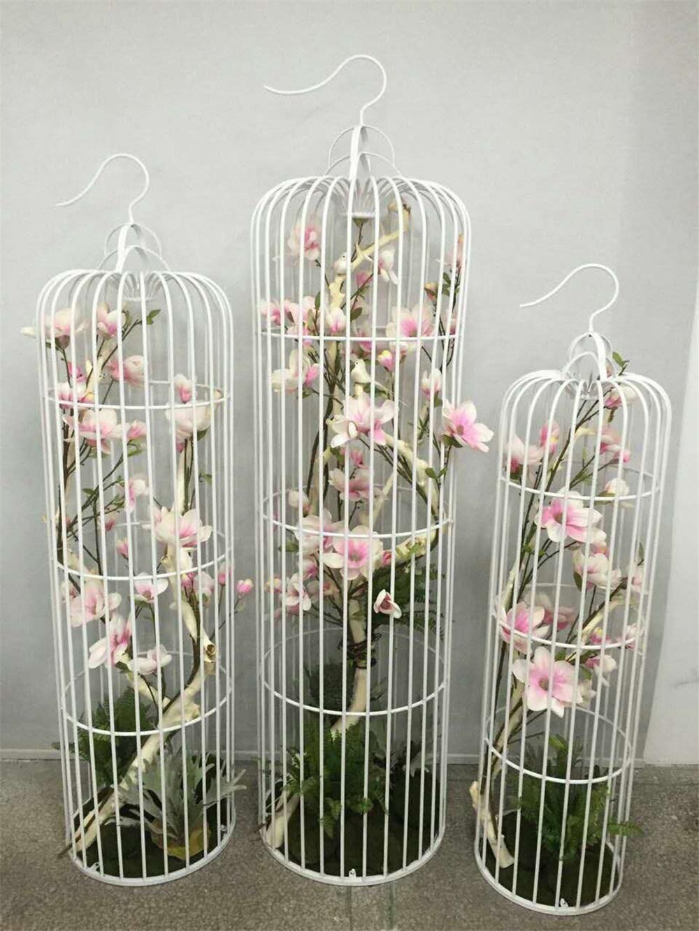 China Custom Metal Crafts Decorative Bird Cage For Wedding China Wedding Decoration And Garden Decoration Price
