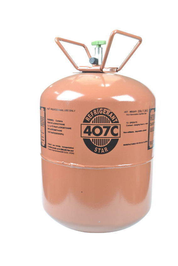 Good Price R407c Refrigerant Gas for Sale with High Purity