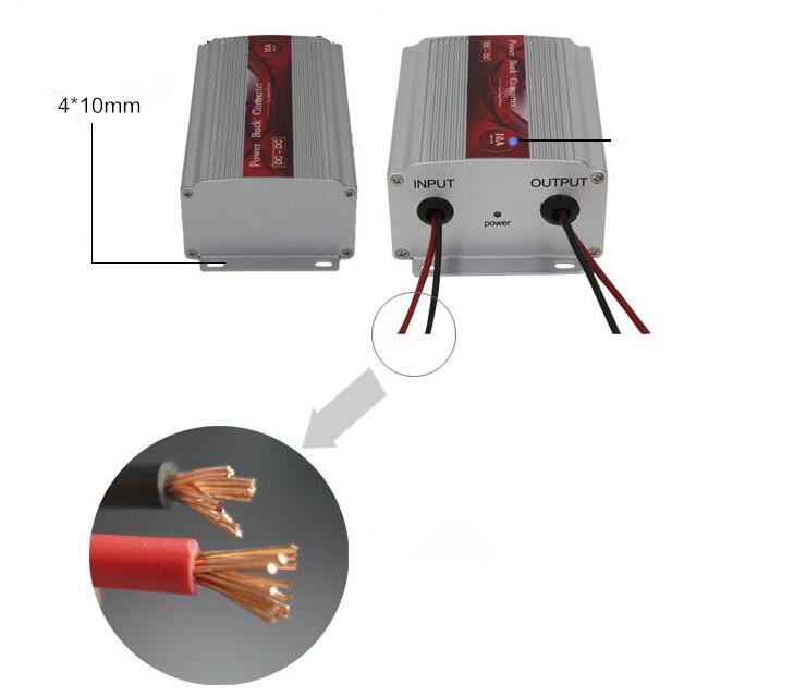 DC12V to DC24V 600W Power Boost Transformer (QW-DC600W1224) pictures & photos