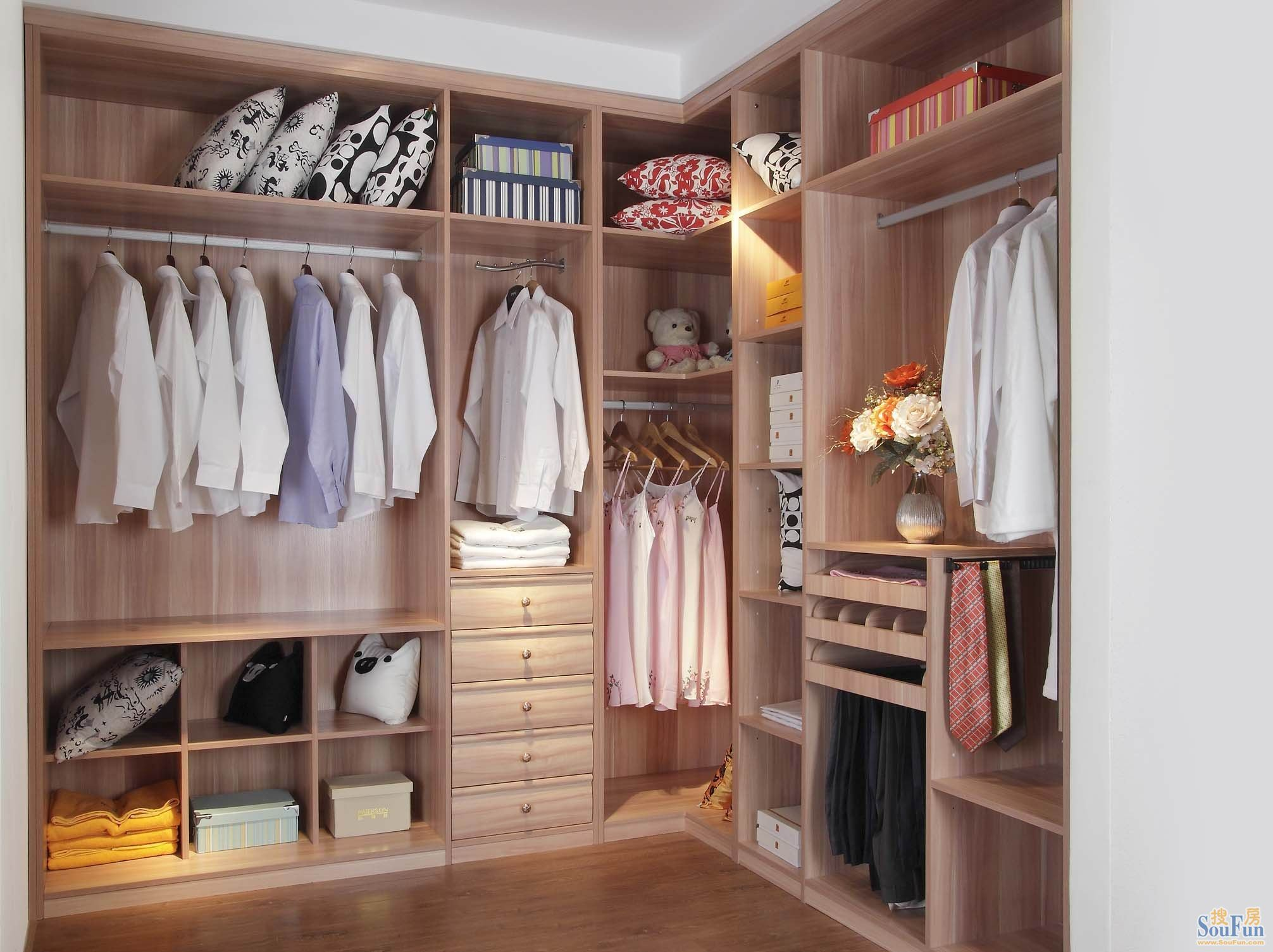 Europe Popular Bderoom Chest Walk in Wardrobe New Design