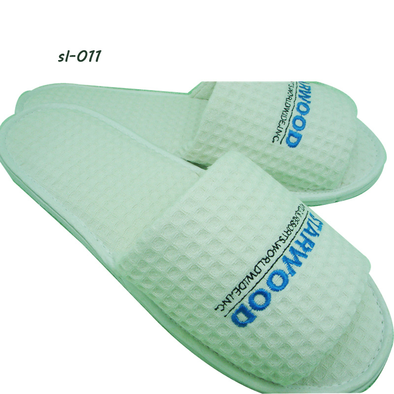 Hotel Amenities Slippers 3 Hotel Slipper Waffle Slipper Factory