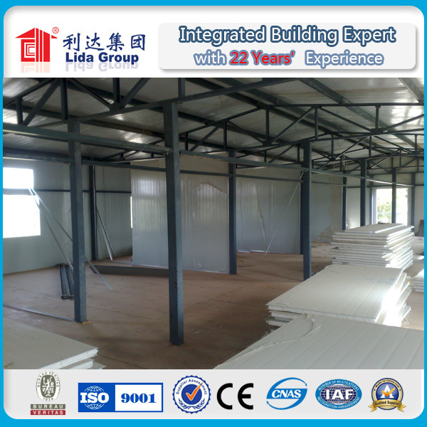 Sandwich Panel Wall and Roof Pre Fabricate Labor House