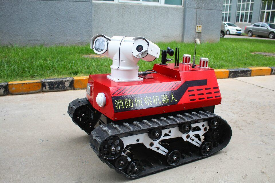 Wireless Image Acquisition Firefighting Robot