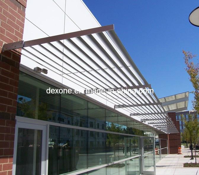 China Aluminium Architectural Airfoil Sun Louvers As