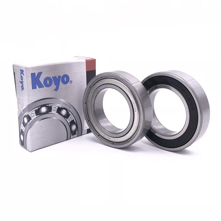 KOYO 6209 2RS Deep Groove Ball Bearings 45 X 85 X 19 mm