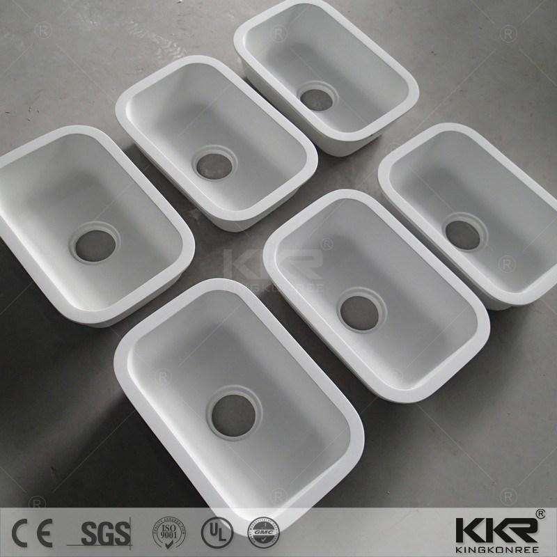 [Hot Item] Hot Selling White Single Bowl Kitchen Sink Water Tank