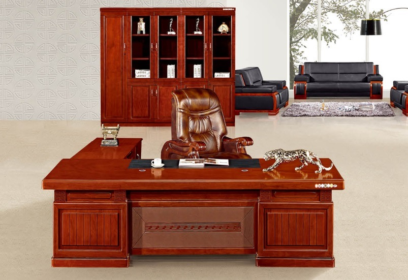 finest selection fb3b5 2df89 [Hot Item] Modern Boss Director Office Counter Furniture Table (A-2437)