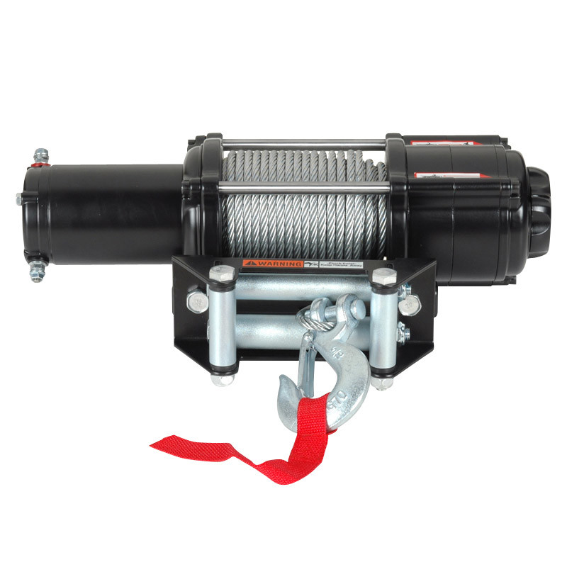 Lengthen Popular UTV Electric Winch with 4000lb Pulling Capacity