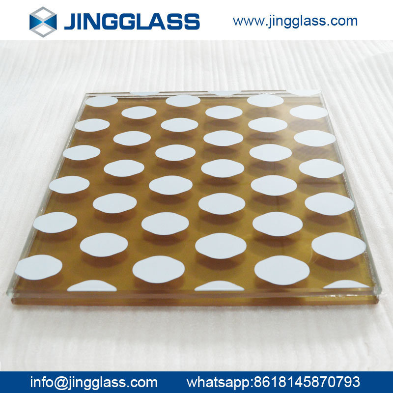 3-15mm Colored Painted Decorative Art Glass Window