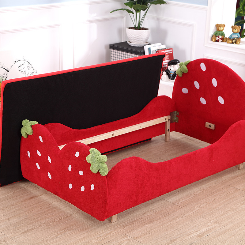 Beautiful Kid′s Bunk Bed Strawberry Model Bed for Kids Bedroom Furniture pictures & photos