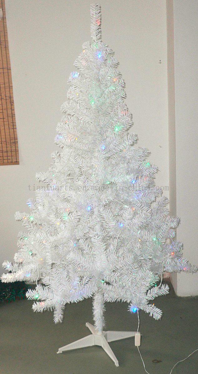 china pre lit whiteiridescent tinsel tree china pre lit christmas tree artificial christmas tree with lights - Iridescent Christmas Tree Decorations