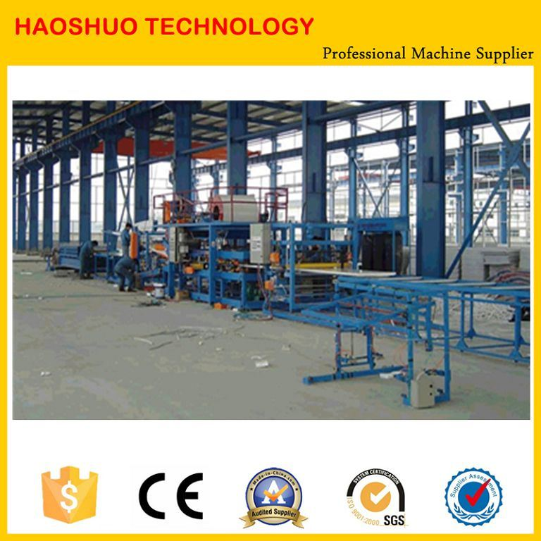 EPS Sandwich Panel Roll Forming Machine PU Coated Roofing Tile Sandwich Forming Machine pictures & photos