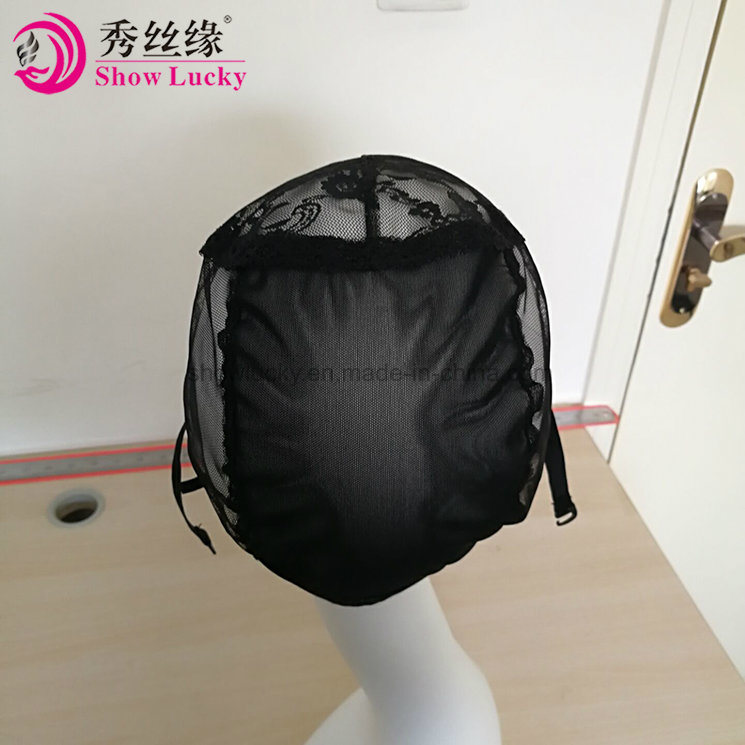 China Double Lace Wig Caps For Making Wigs And Hair Weaving Stretch