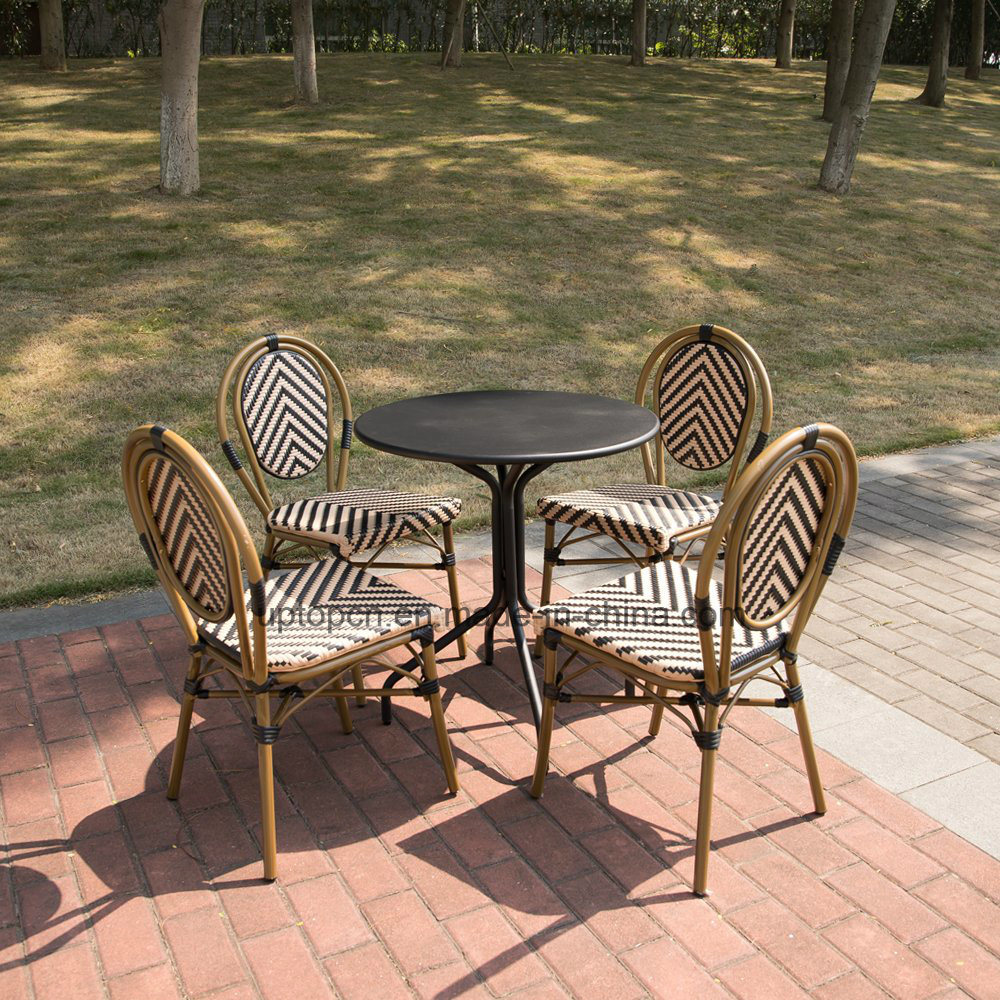 [Hot Item] (SP-OC520) Bamboo Restaurant Furniture Rattan Dining Chair  French Bistro Chairs