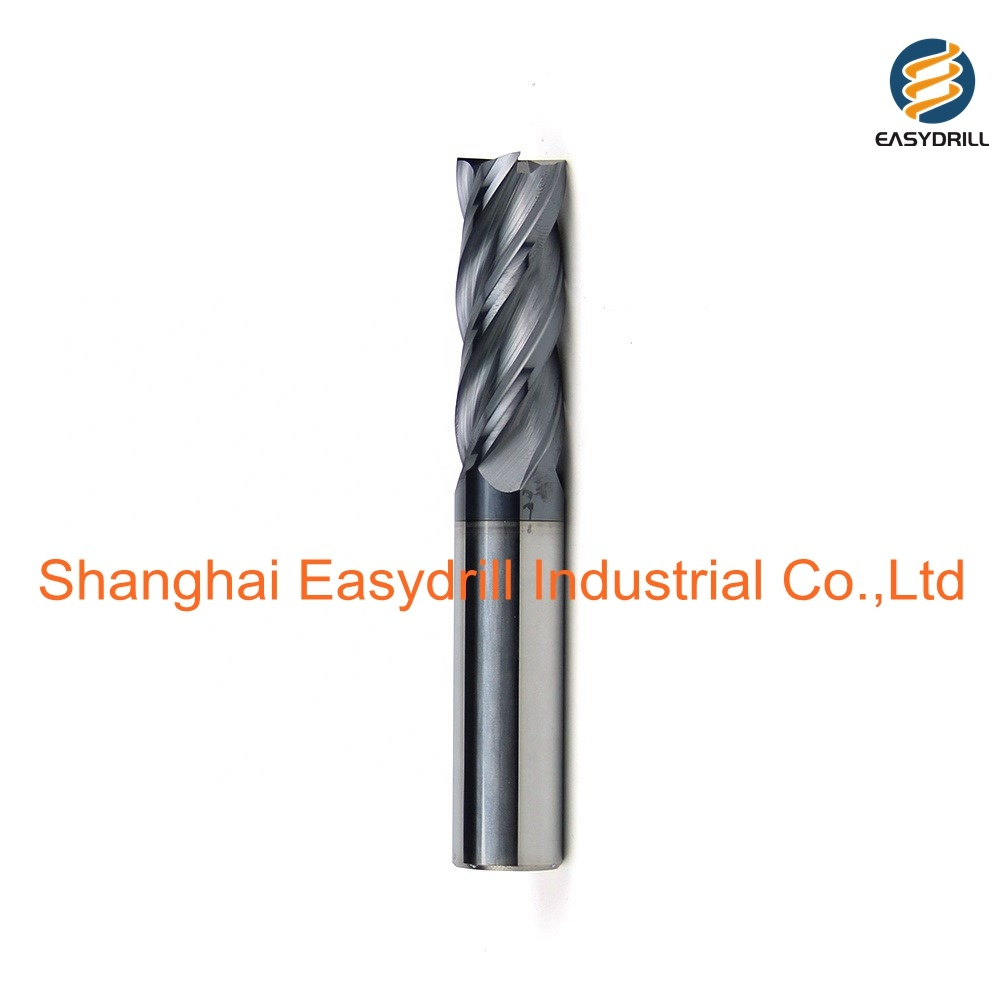 Solid Carbide 4 Flute End Mill Cutter 2 mm