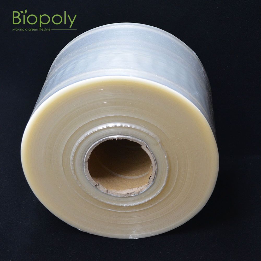 [Hot Item] Eco Friendly Biodegradable Pallet Wrap Manual Hand Bopla Stretch  Film Stretch Wrap