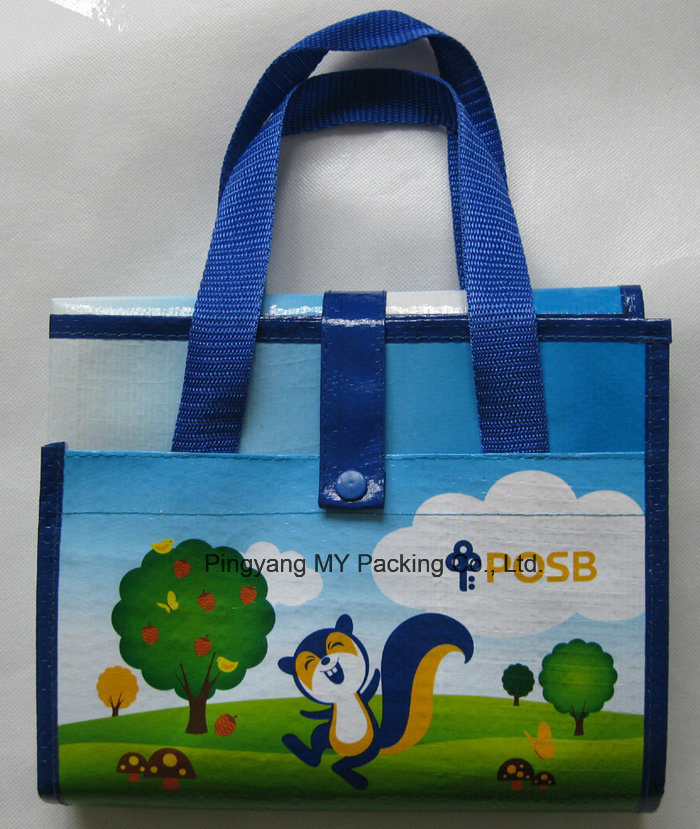 Tote Foldable PP Webbing Laminated Woven Polypropylene Beach Mat