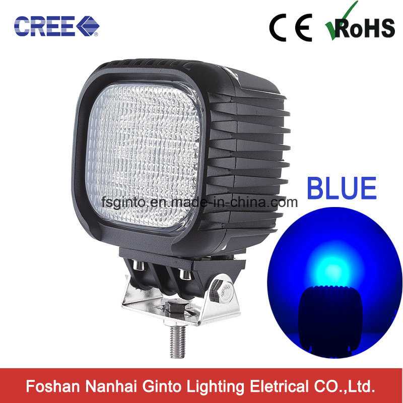 CREE 48W Blue Spot Light for Tractor Agriculture Machinery (GT1013B-48W Blue)