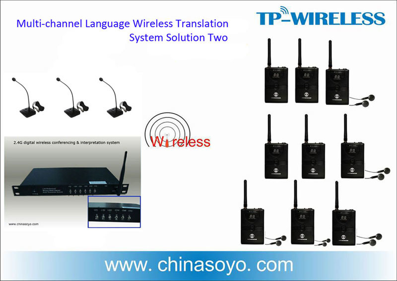 Audio 6 Languages Translator for Meeting