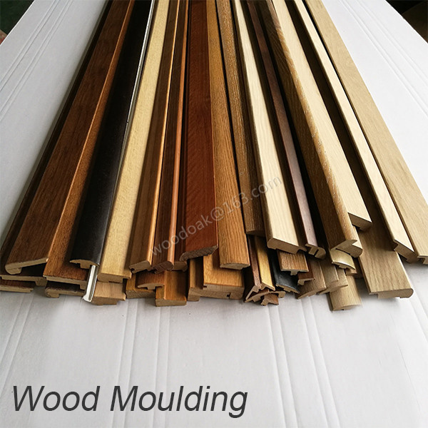 China Different Profile Mdf And Solid Wood Moulding Flooring