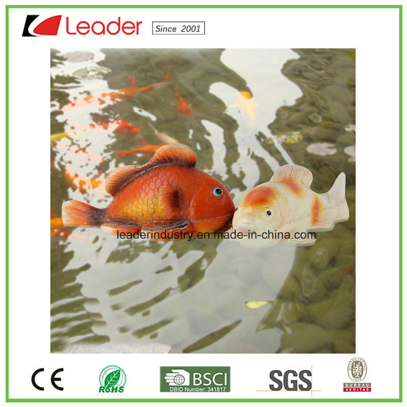 Hot Sale Floating Fish Figurine Pond Decoration, Made of PU and Polyresin pictures & photos