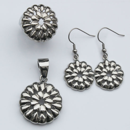 New Stainless Steel Ladies Earrings Designs Pictures