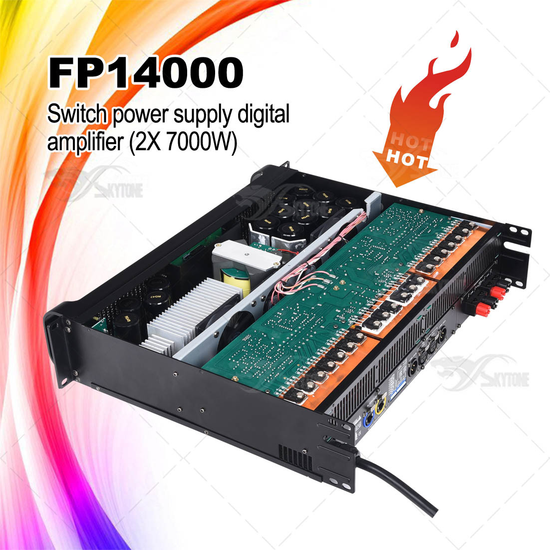 China Fp14000 Class Td 7000watts Power Amplifier Audio Pa Compatible With Tv