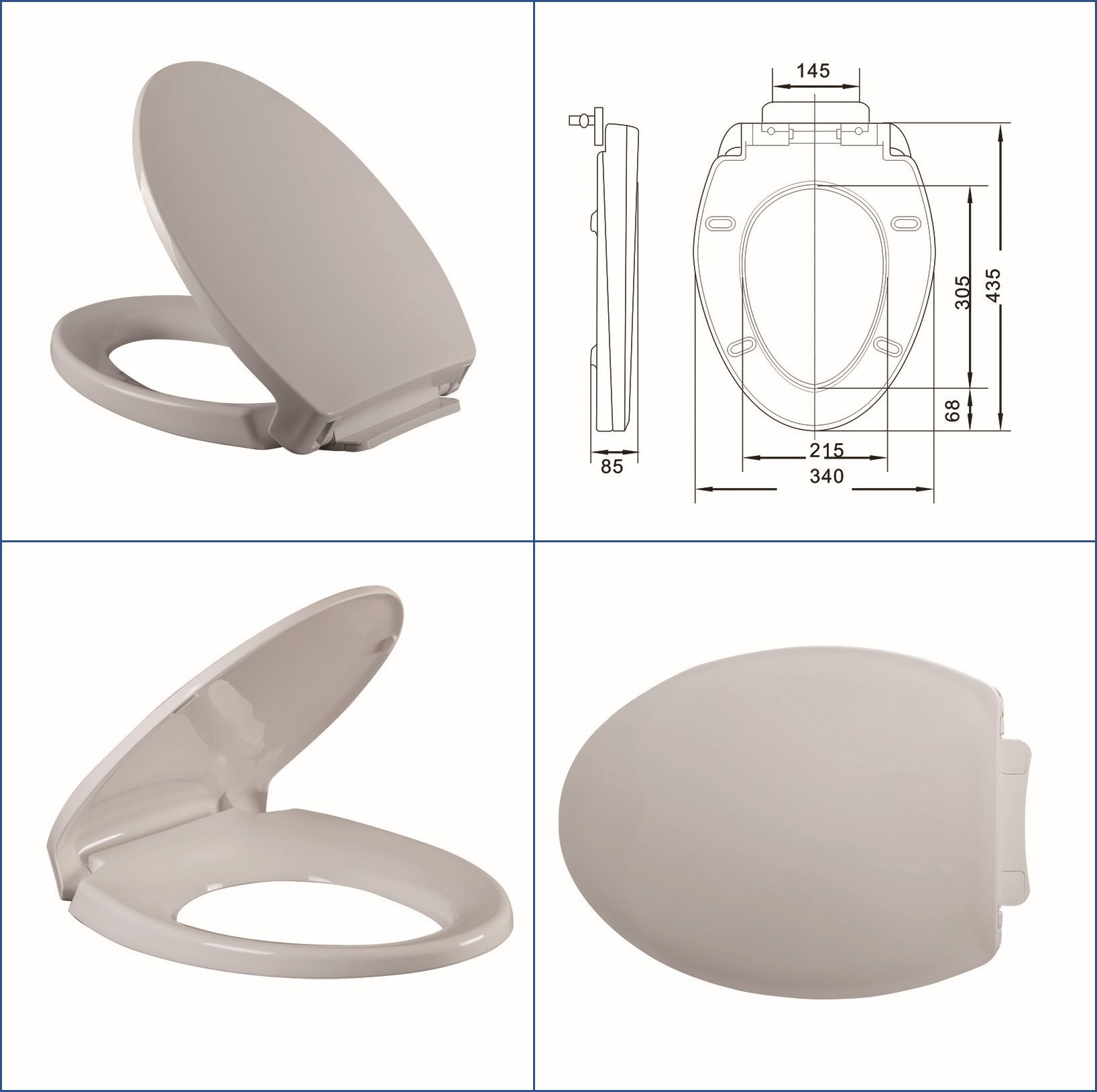 China Toto Size Toilet Seat Heavy End Photos & Pictures - Made-in ...