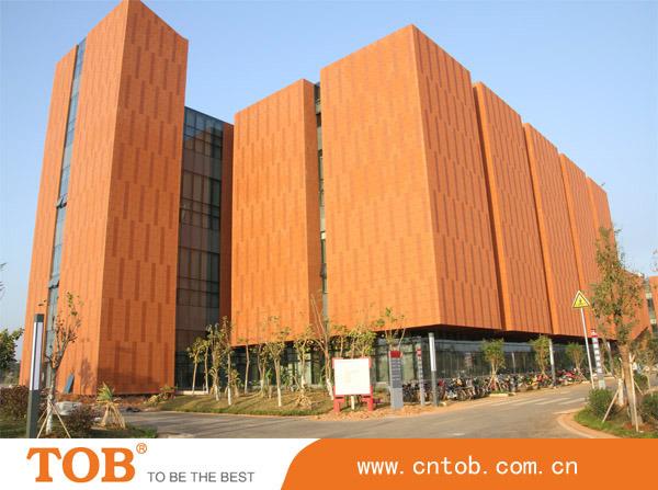 China 300x900mm Wall Facade Cladding Clinker Terracotta