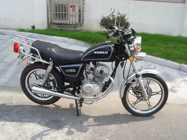 China 125cc Motorcycle Similar with SUZUKI GN125 - China Motorcycle