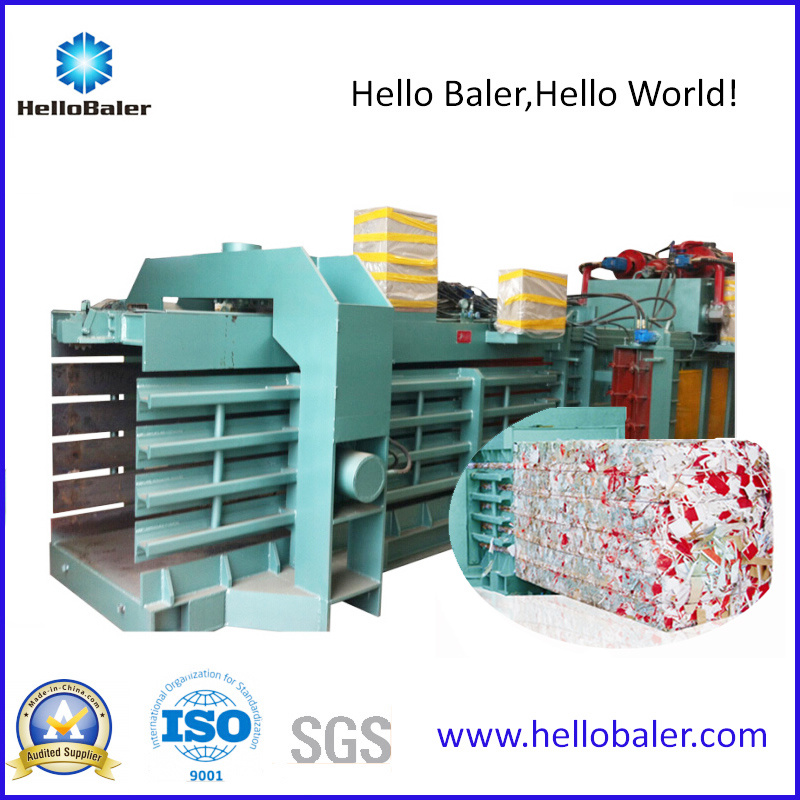 High Capacity Auto Tying Waste Paper Pressing Machine pictures & photos