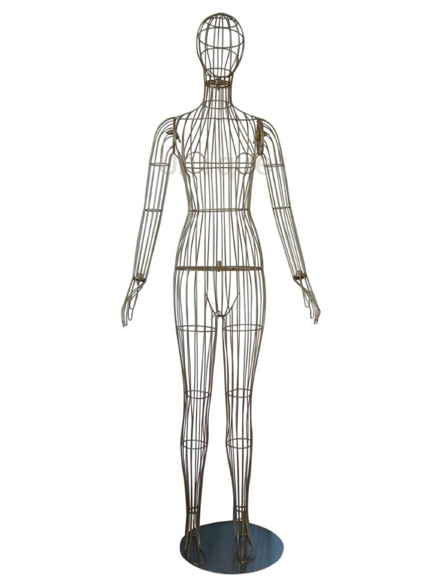 China Wire Mannequin 3 - China Mannequin, Male Mannequin