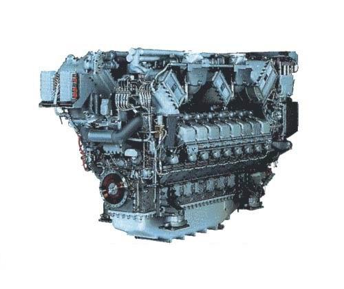 [Hot Item] Original Mtu Diesel Engine and Spare Parts (MTU493, MTU538,  MTU595)