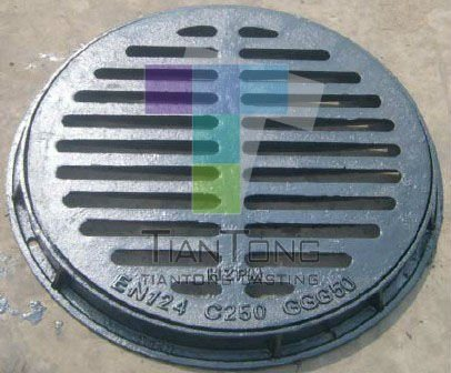 China Cast Iron Trench Drain Grates China Gully Grate