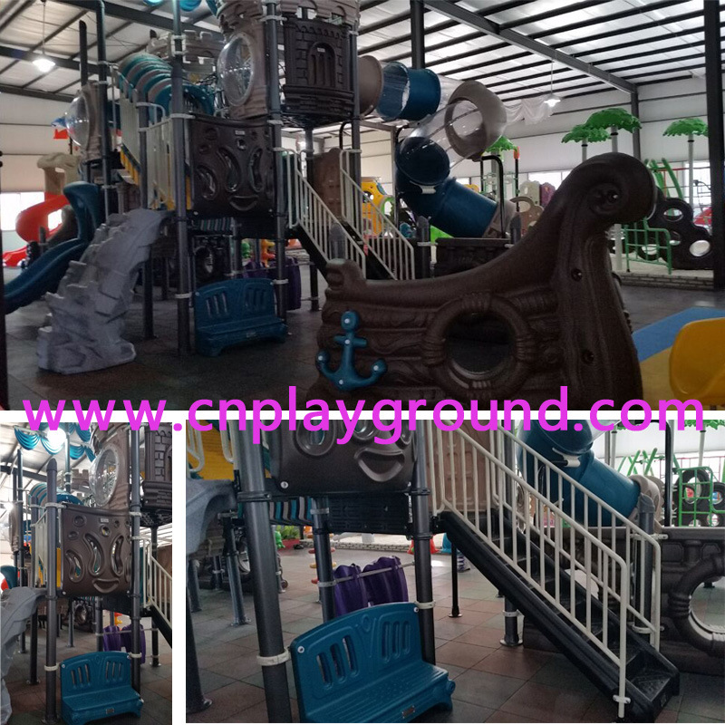 Pirate Ship Playground Equipment for Amusement Park Outdoor Playground (HK-50052) pictures & photos