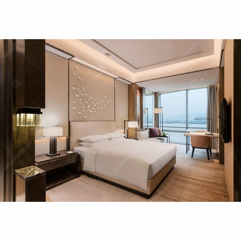 Modern Hotel King Size Twim Size Bedroom Furniture pictures & photos