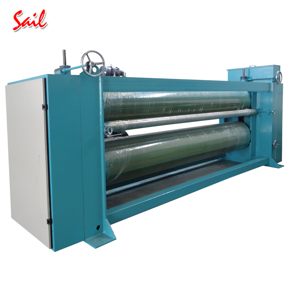 High Level Nonwoven Textile Polyester Fiber Padding Ironing Machine pictures & photos