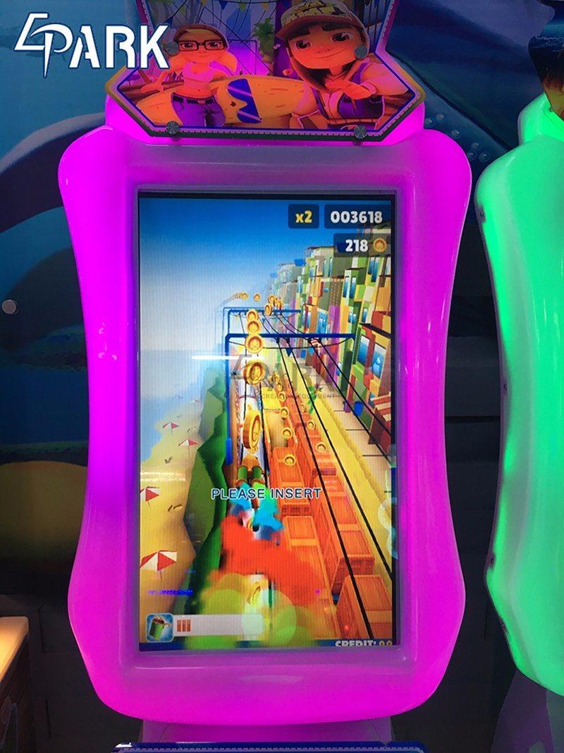 China Arcade Coin Operated Amusement Subway Parkour Racing