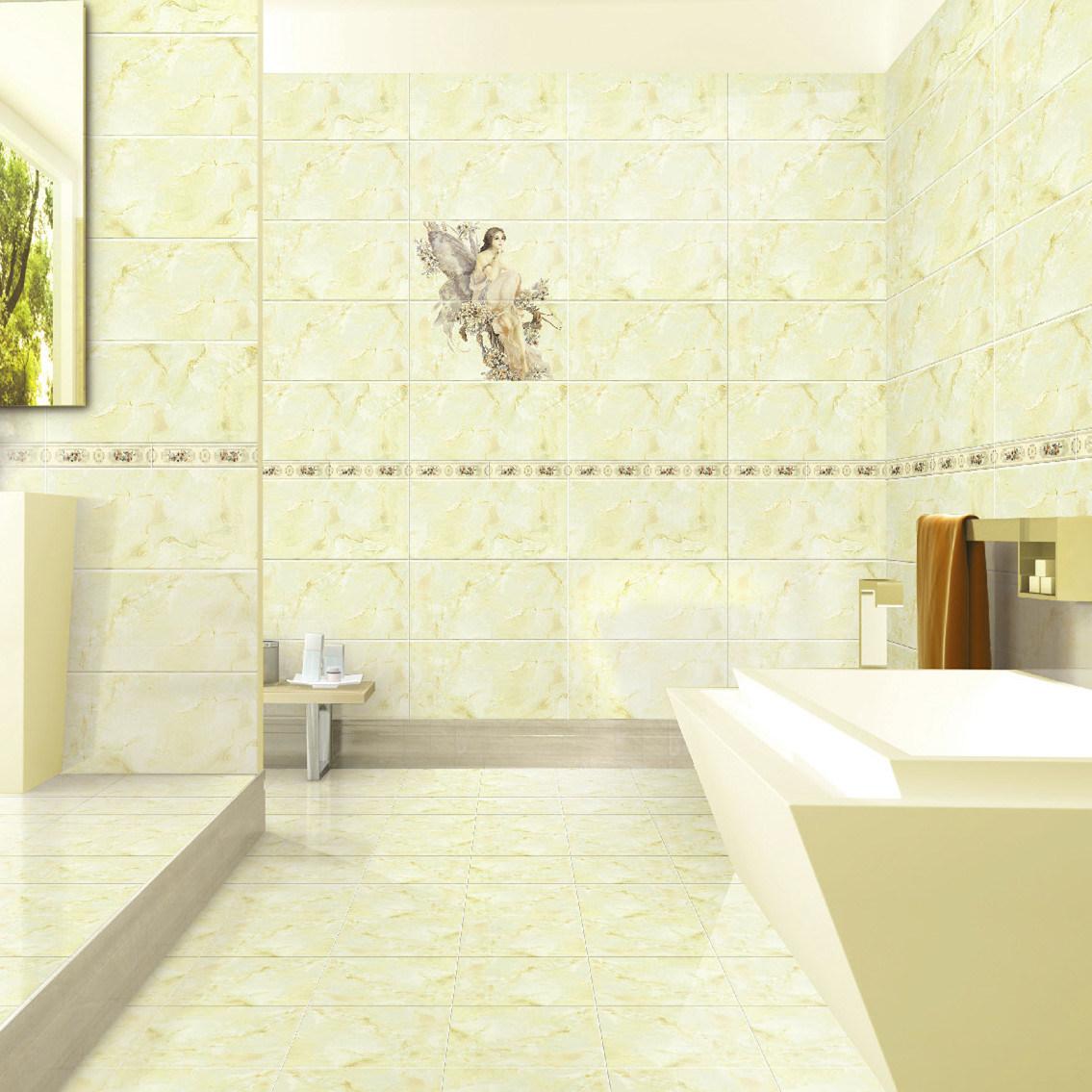 China Inkjet Glazed Ceramic 300X600mm Wall Tile for Bathroom or ...